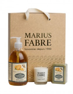 Orange zest and cinnamon Fragrance christmas gift set