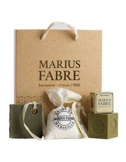 """Discovery of Marseille soap"" Christmas gift box"