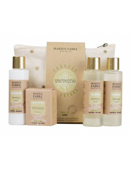 Verbena products travel kit