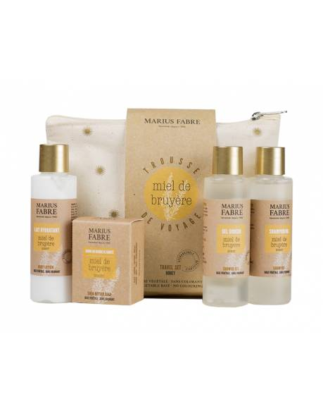 Heather honey products travel kit