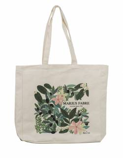 100% Organic cotton shopping bag Marius Fabre x Leona Rose