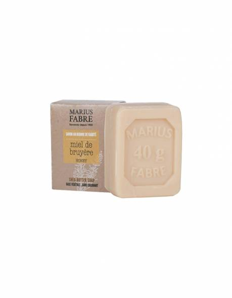 Mini Shea butter bar of soap Heather honey fragrance