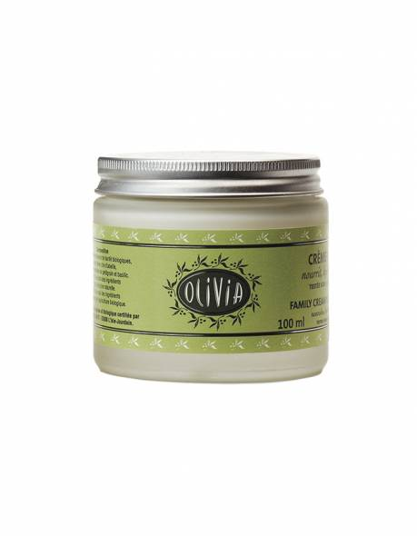 Certified organic olive oil & shea butter moisturising cream 100ml