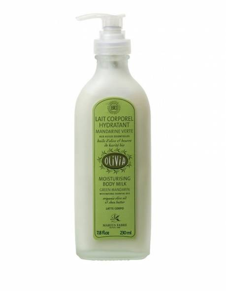 Certified organic moisturising olive oil body lotion 230ml