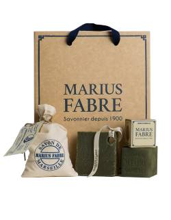 """Discovery of Marseille soap"" gift box"