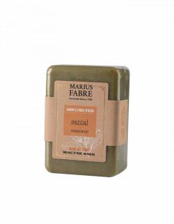 Olive oil bar of soap Sandalwood fragrance