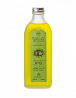 Certified organic dry oil, with olive & evening primrose oils 230ml