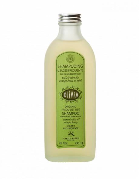 Certified organic frequent use olive oil shampoo 230ml