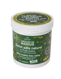 Natural soap paste 1 L with olive oil