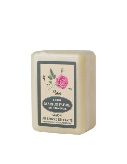Shea butter toilet soap, wildrose fragrance