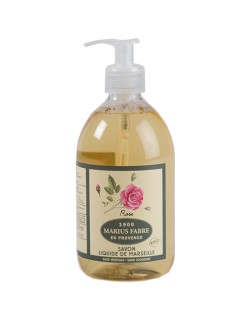Marseilles liquid soap, wildrose fragrance