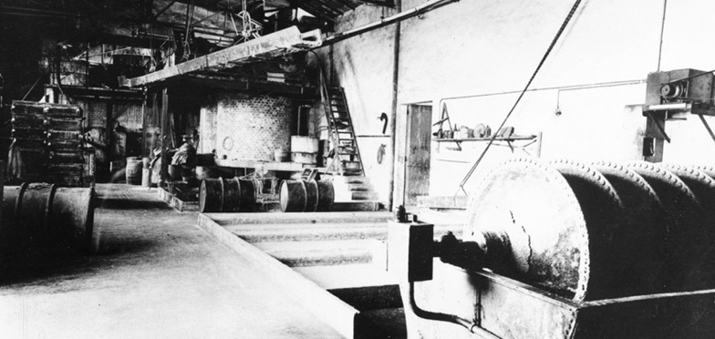 The soap factory Marius Fabre in 1920