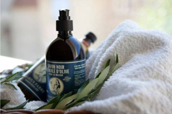 Make your own black soap laundry wash